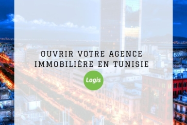ouvrir agence immobiliere tunisie logo